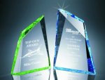 Faceted Mountain Cut Acrylic Award Achievement Award Trophies