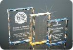 Scalloped Edge Plaque Acrylic Award Achievement Award Trophies