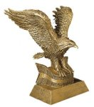 Eagle Resin Figures Achievement Award Trophies