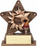 Starburst Resin - Victory Torch Achievement Award Trophies