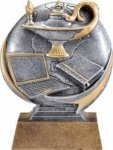 Lamp of Knowledge - Motion Extreme Resin Achievement Award Trophies