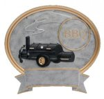 Legend BBQ Grill Oval Award All Trophy Awards