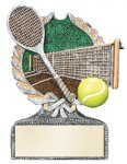 Tennis Multi Color Sport Resin Figure All Trophy Awards