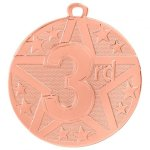 Superstar Bright Medal - 3rd Place All Trophy Awards