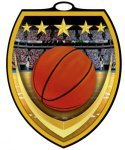 Full Color Burst Medal  Basketball Medals