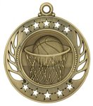 Galaxy Medal Basketball Medals