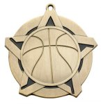 Super Star Medal - Basketball Basketball Medals