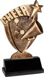 Broadcast Resin - Cheer Cheerleading Trophy Awards