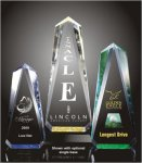 Faceted Obelisk Acrylic Award Executive Acrylic Awards