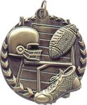 Football - Millennium Medal Football Medals