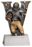 V Series Resin - Football Football Resin Awards