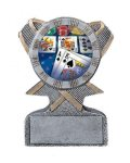 Action Sport Mylar Holder Football Trophy Awards