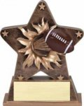 Starburst Resin - Football Football Trophy Awards