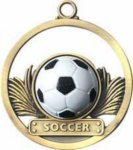 Soccer - Game Ball Medal Game Ball Medals