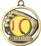 Baseball - Game Ball Medal Game Ball Medals