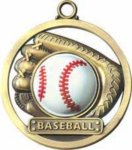 Baseball - Game Ball Medal Medals