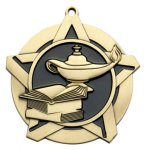 Super Star Medal - Lamp of Knowledge Medals