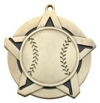 Super Star Medal - Baseball Medals