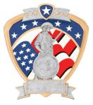Signature Series National Guard Shield Award Patriotic Awards