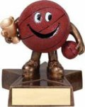 Basketball - Lil' Buddy Resin  Plaque Awards