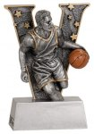 V Series Resin - Basketball Male Plaque Awards