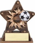 Starburst Resin - Soccer Resin Awards