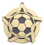 Super Star Medal - Soccer Super Star Medal
