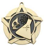 Super Star Medal - Science Super Star Medal