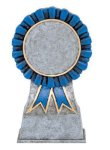 Color Ribbon Resin Mylar Holder Teamwork Trophy Awards