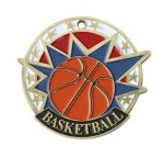 USA Sport Basketball Medal USA Sport Medals
