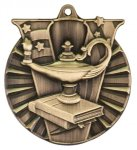 Victory Medal - Lamp of Knowledge Victory Medallion Awards