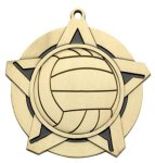 Super Star Medal - Wrestling - Volleyball Volleyball Trophy Awards